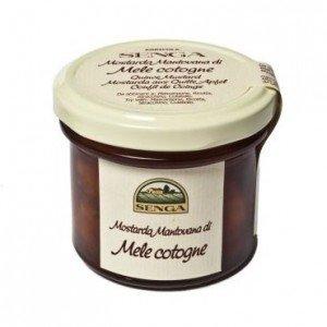 Mostarda mantovana di mele cotogne 220g prezzo e vendita for Mostarda di mele mantovana