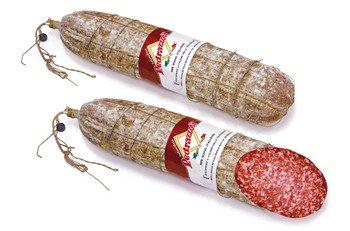 Salame Milano con budello naturale metà
