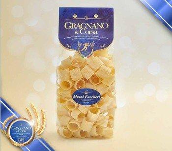 Mezzi paccheri lisci di semola di grano duro di Gragnano