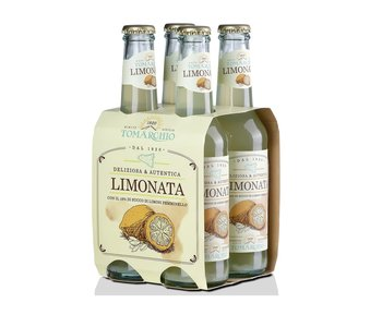 Limonata con Limoni Femminello 275ml Box da 4 Bottiglie