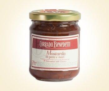 Mostarda di pere e noci 220g prezzo e vendita online for Mostarda di pere mantovana