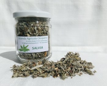 Salvia essiccata in vasetto 20g
