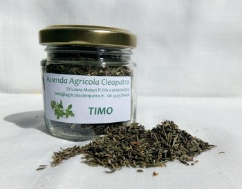 Timo essiccato in vasetto 20g