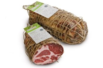 Coppa stagionata BIO intera 1,75kg